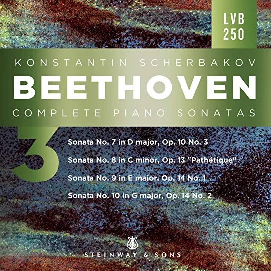 Beethoven Sonatas 3 FrontCover